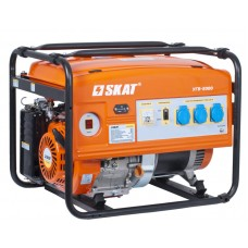 Генератор УГБ-5000 (бензин, 5 кВт, вес 80 кг)